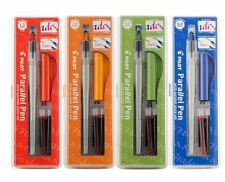 Pilot Parallel Calligraphy Pen Set, 1.5mm, 2.4mm, 3.8mm, & 6.0mm with Bonus Ink