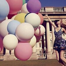 Giant 10pcs 36 Inch Big Size Latex Balloon Valentine Wedding Party Decoration