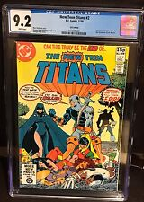 New Teen Titans 2 First Death stroke UK Edition CGC 9.2