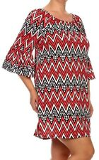 WOMENS PLUS DRESS 3X TUNIC TOP NEW RED BLACK 22 24 XXXL CUTE NWT SPRING DEAL