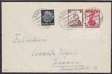 DR K 26, 512 MiF auf Brief, gel. in Essen 06.05.1936, Nothilfe Kehrdruck