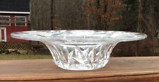 "ABP Pairpoint Daisy Cut Glass 7"" Bishops Hat Bowl"