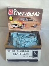 AMT 1951 CHEVY BEL AIR 1/25 SCALE 3 IN 1 MODEL KIT #6607 SEALED
