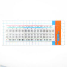 Solderless Breadboard Protoboard 830 Tie Points 2 buses Test Circuit good MB-102