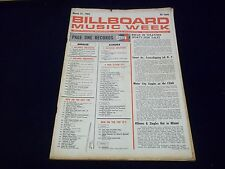 1962 MARCH 31 BILLBOARD MAGAZINE - ELVIS PRESLEY BLUE HAWAII #1 LP CHART - J 87