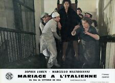 SOPHIA LOREN  MATRIMONIO ALL'ITALIANA 1964 VINTAGE LOBBY CARD #15