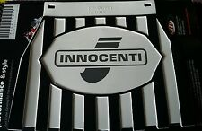 Lambretta Innocenti Black & White Stripe Cuppini Mudflap Rubber Type
