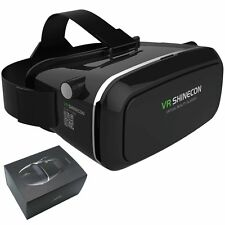3D Virtual Reality Shinecon VR Video Game Google Glasses For iPhone Samsung