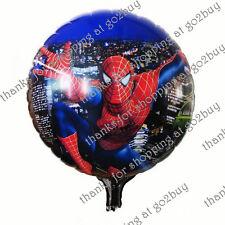 Cartoon Foil Balloon Spider-man A Birthday Party Decoration Round 45CM