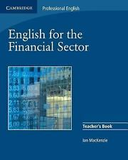 English for the Financial Sector Teacher's Book (Cambridge Professional English
