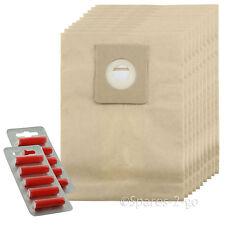10 X Aspiradora Bolsas Para NILFISK Serie Gm Hoover Bolsa + fresca