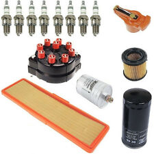 Porsche 928 78-84 OEM Ignition Tune Up Kit Air Oil Fuel Filters Cap Rotor Plugs