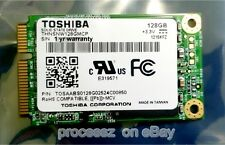 New Toshiba mSATA 128GB SSD Mini PCI-e 50mm Solid State Drive THNSNW128GMCP MLC