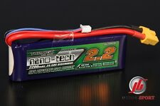 Turnigy 2 Cella NANO-TECH 2200 mAh 2s 7.4v 25-40c Lipo Batteria