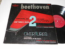 BEETHOVEN Concerto No. 2 NM- Piano in  Badura-Skoda Scherchen Vienna WL-5302