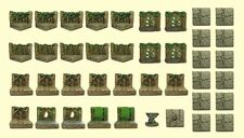 "Dwarven Forge Woodland Set ""Limited edition"" Master Maze Great shape"