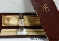 Genuine Patek Philippe 3923 18k Gold Calatrava Vintage Mens Watch w Box