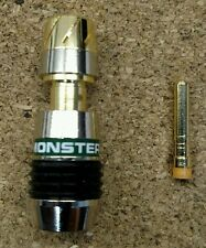 Monster Cable QuickLock Digital Coaxial RCA connectors QL HDM59 Compression