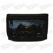 Marvel Batman Teen Boys Black Tri-Fold Wallet