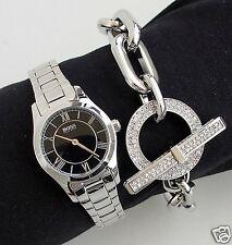 Hugo Boss 1502376 fantastico/reloj Ambassador color: plata/negro, nuevo!