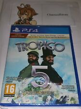 Tropico 5 Collectors Edition Limited  PS4 New Sealed UK PAL Sony PlayStation 4