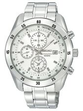 SCNP SNDC41P1 Seiko Gents Chronograph Stainless Steel Bracelet Watch