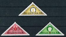 Lituania / Lithuania 1991 Soggetti simbolici  MNH