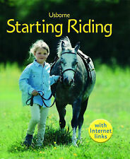 Lesley Sims Starting Riding (First Skills) Very Good Book