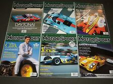 2007-2014 MOTOR SPORT MAGAZINES LOT OF 30 DIFFERENT - GREAT PHOTOS - O 2773