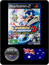 Sonic Riders: Zero Gravity (Sony PlayStation 2, PS2, COMPLETE, GC, FREE POST)