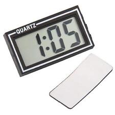 JUMBO SELF ADHESIVE QUARTZ CLOCK WITH DATE FUNCTION DASHBOARD DIGITAL CAR VAN UK