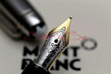 "MONTBLANC SOLITAIRE DOUE FÜLLER STAINLESS STEEL EDELSTAHL 18kt. ""F""- FEDER"