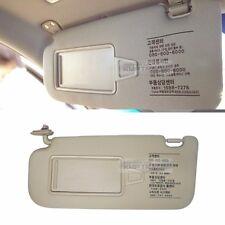 OEM Interior Hand Sun Visor Shade LH Beige for HYUNDAI 2007 - 2010 Elantra HD