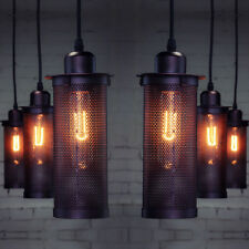 Industrial Iron Ceiling Light Sconce Pendant Lamp Bar Restaurant Vintage Fixture