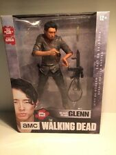 "McFARLANE AMC THE WALKING DEAD GLENN 10"" inch DELUXE ACTION FIGURE"