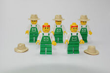LEGO FARMER MINIFIGURE POLYBAG # 4899  Minifigure NEW (X5)