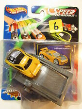 HOT WHEELS SPEED DEMONS - SEARED TUNER YELLOW