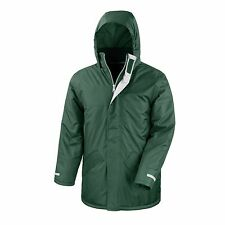 Mens Womens Waterproof Winter Coat Jacket Parka Windproof Hooded 6 Colours S-3XL