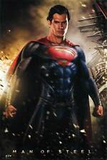 New! Superman Man of Steel 24x36 Fine Art Print Poster Home Wall Decor Z172