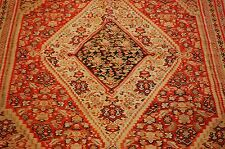 Pre 1900's ANTIQUE SUPER DETAILED_HIGH KPSI PERSIAN SENNEH KILIM RUG 4.5x6.5