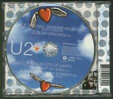 U2 If God Will Send His Angels 4 TRACK CD EP w live and rare songs