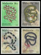 Species Of Snakes In Malaysia 2002 Reptiles Animal Fauna (stamp) MNH