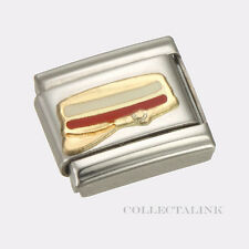 Original 18k Nomination Enamel Conductor's Hat Charm