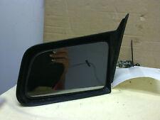 1982 - 1992 Chevrolet Cavalier  LH driver door mirror manual remote  black OEM