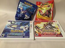 Pokemon Omega Ruby Alpha Sapphire w/ Primal Groudon Kyogre Nintendo World Figure