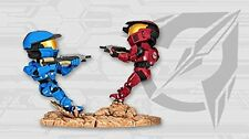 Halo Icons Screen Shoots Legendary Spartan Warzone Figure