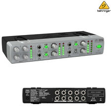 Behringer AMP800 Miniamp Ultra Compact 4 Channel Stereo Headphone Amplifier New