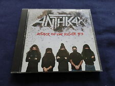 Attack of the Killer B's [PA] - Anthrax (CD 1994) XCLNT Condition Fast FREE Ship