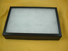 "1 Jewelry display case Riker Mount display box shadow box 14 X 20 X 2"" Collect"