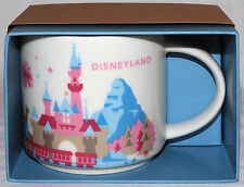 Disneyland Exclusive Starbucks You Are Here Special Edition Mug 2015 New in Box